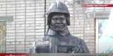 В Ангарске открыли памятник сотрудникам пожарной службы
