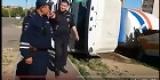 Улан-Удэ: бетономешалка рухнула в размытую кипятком дыру в асфальте