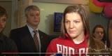 Ангарск: призер Олимпиады Екатерина Букина вернулась в родной город