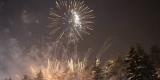 Новогодний салют в Иркутске