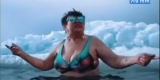 Иркутская пенсионерка зачитала рэп на Байкале