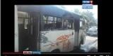 Иркутск: сгорел маршрутный автобус