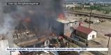 Крупный пожар на строительном рынке потушили в Улан-Удэ