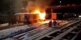 При возгорании тепловоза на станции Зима погиб проводник